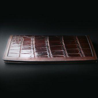 UA別注 クロコロングウォレット(2つ折り財布)