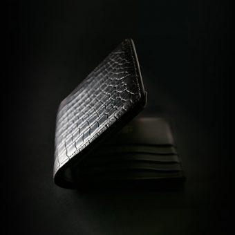 クロコKLEMPERER(2つ折小銭入付財布)