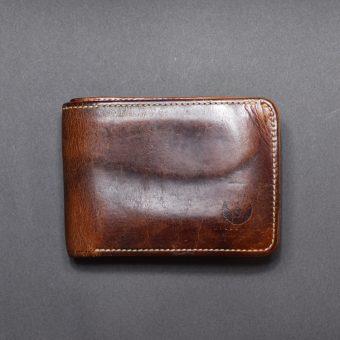 SPLITTER(二つ折り財布)-ナチュラル