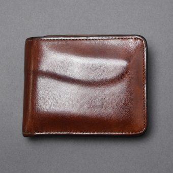 フルグレインブライドルGROUNDER(二つ折り財布)