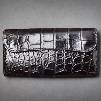 クロコWAVE(大型長財布)
